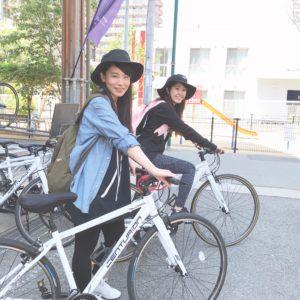 サイクリングロード | 浜の散歩道へ 明石 淡路島 レンタサイクル