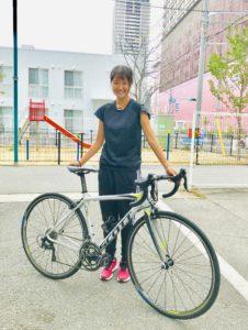 神戸マラソン| 日本人TOPでゴールの横川海姫 さん|カーボンロードバイクレンタル