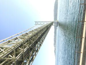 明石 淡路島レンタサイクル|神戸側から見た明石海峡大橋です!
