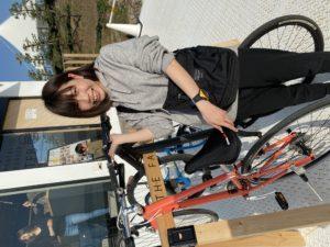 ファンタスティックバーガー|自転車ラック
