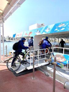 ブログ|ジェノバライン自転車積み込み