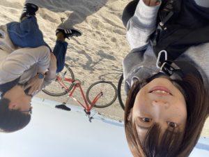 ファンタスティックバーガーまでサイクリング