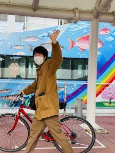 帰りも遅れても自転車なら安心|明石 淡路島レンタサイクル
