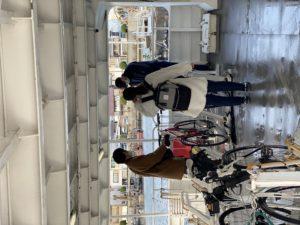 帰りのフェリーも自転車で帰ってくるので達成感があります|明石 淡路島レンタサイクル