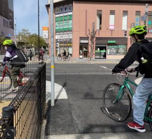 明石駅から5分のクロスバイクレンタル